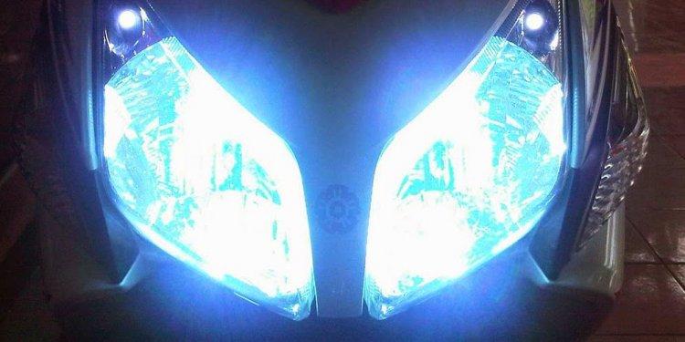 Modifikasi Lampu Motor Supaya