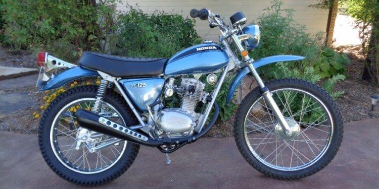 Motorcycle Metallic Blue Paint