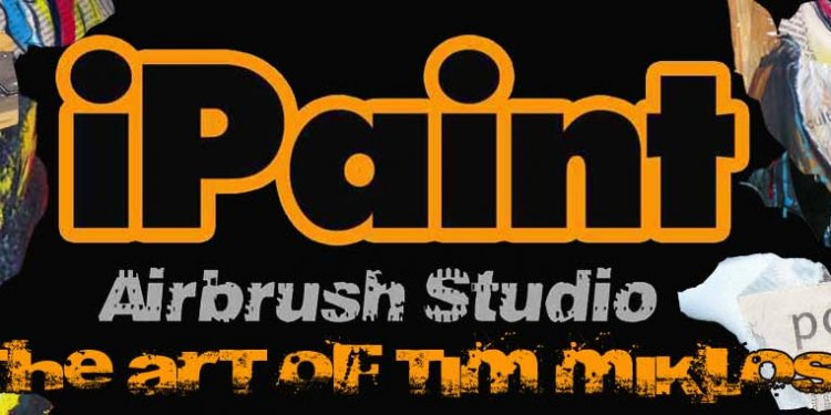 IPaint Airbrush Studio-Home
