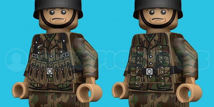 New Lego Fallschirmjägers