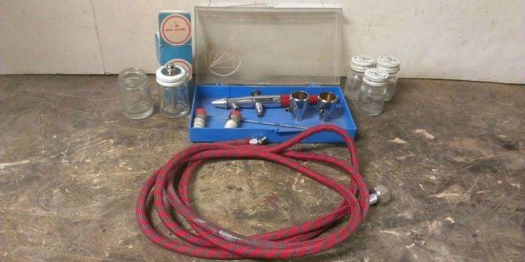 Paasche Vintage Air Brush Set