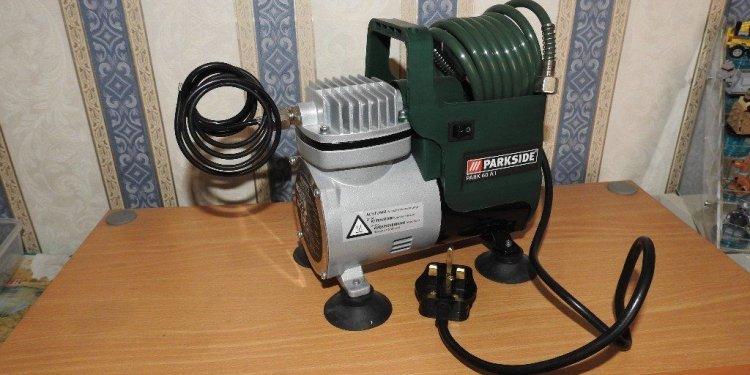 Parkside Airbrush & compressor