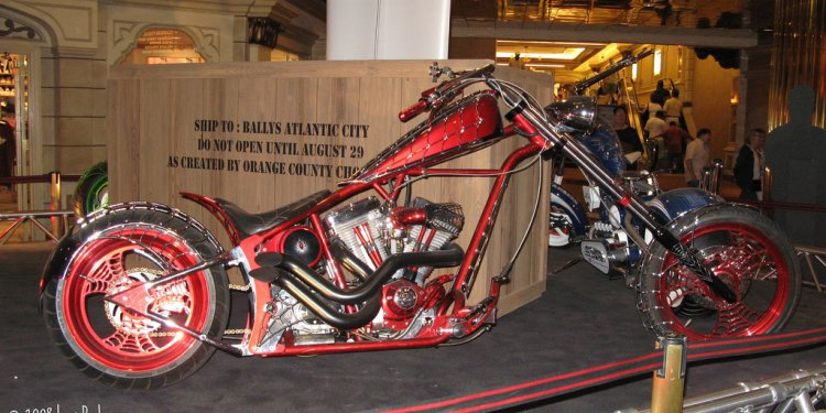 Spiderman Motorcycle