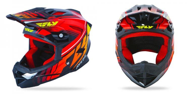 Motocross helmet designs