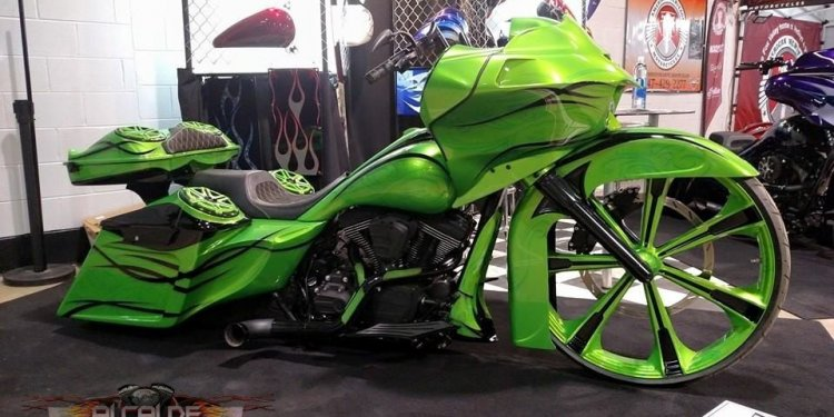 Motorcycle paint scheme ideas