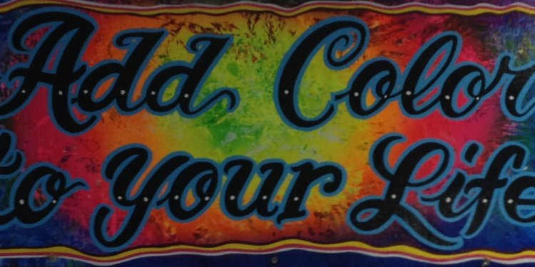 Airbrushed car Tags