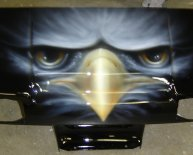 Airbrush cars Art