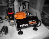 Compressors for Airbrushing